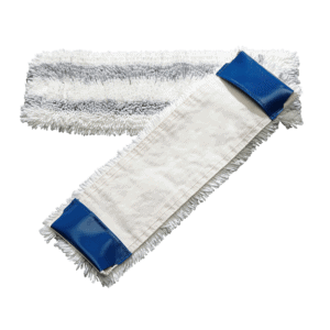 Popular pocket mop with scouring effect for flat press washing system