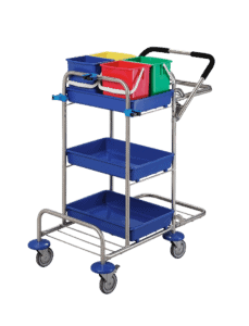 Basic cleaning trolley