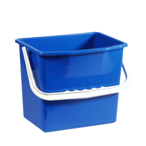 Blue cleaning bucket 6L